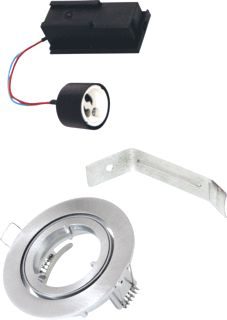 BAILEY DOWNLIGHT KIT GU10 IP23 ALUMINIUM