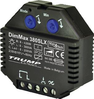 MAX4TECH DIMMAX 380SLX LED DIMMER INBOUW