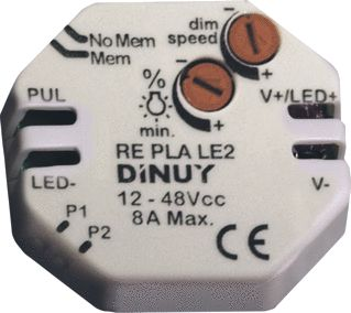 DINUY DIMMER PWM 12-48VDC / 8A