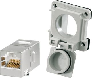 WEIDMULLER CONNECTOR IE-X1M-FJ45/RJ