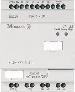 EATON MOELLER SMARTWIRE IN- / UITGANG MODULE CANALIT 6IN/4T