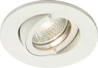 LUMIANCE INSTAR TREND SWING DOWNLIGHT IP44 WHITE