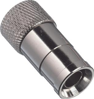 HIRSCHMANN F-CONNECTOR PUSH-ON POFC 070
