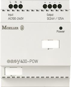 EATON MOELLER EASY430-POW VOEDING 1,25A/24DC