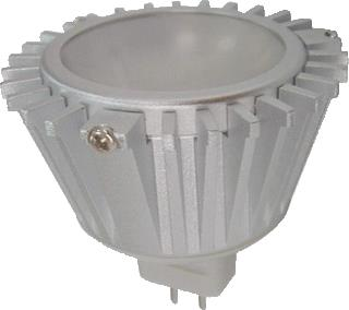 ORBITEC LEDLAMP MR16 5X1W WW