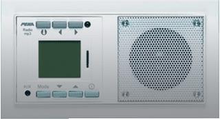 HONEYWELL PEHA NOVA RADIO/MP3-SPELER/SD ALUMINIUM