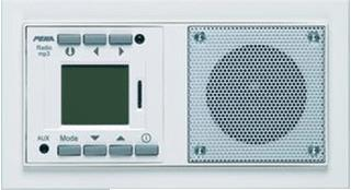 HONEYWELL PEHA NOVA RADIO/MP3-SPELER/SD LEVENDIG WIT