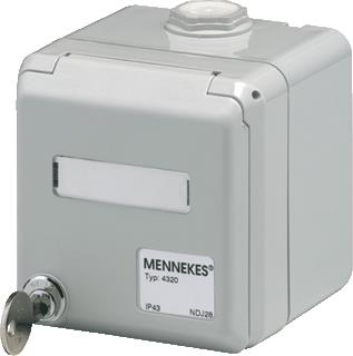 MENNEKES CEPEX DATA AMP TWIST IP44