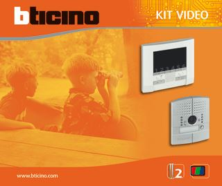 LEGRAND BTICINO POLYX KIT VIDEO/LINEA INBOUW