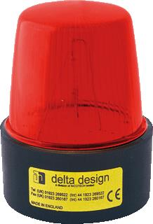 DELTA DESIGN LIGHT FLITSER LT4XMV/5 ROOD