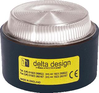 DELTA DESIGN LIGHT FLITSER LP4XMV/2 CLE