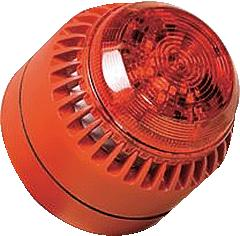 COOPER SAFETY SIRENE/FLITSER ROLP LED ROOD