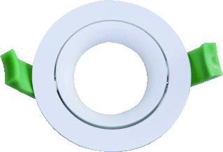 INVENT DESIGN LED DOWNLIGHT RINGARC 70MM WIT