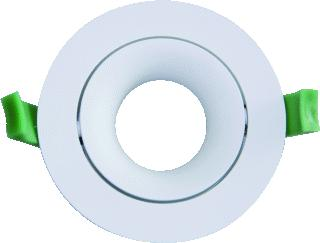 INVENT DESIGN LED DOWNLIGHT RINGARC 90MM WIT