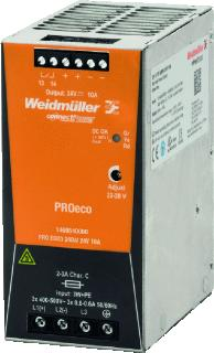 WEIDMULLER VOEDING PRO ECO3 24V/240W/10A