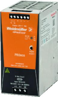 WEIDMULLER VOEDING PRO ECO 48V/240W/5A