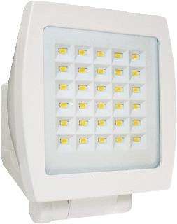 BEG LED-STRALER FL3N 30HP WIT
