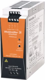 WEIDMULLER VOEDING PRO MAX 180W 24V 7,5A