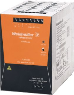 WEIDMULLER VOEDING PRO MAX 480W 24V 20A