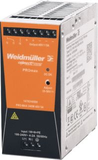 WEIDMULLER VOEDING PRO MAX 240W 24V 10A