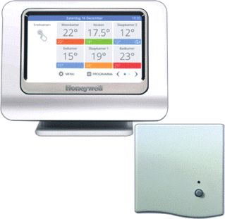HONEYWELL EVOHOME WIFI CONNECTED PAKKET VOOR OPENTHERM KETEL ATP951M3118