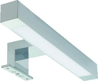 WAVEDESIGN MEA SPIEGELLAMP 59 GLAS.CHROOM