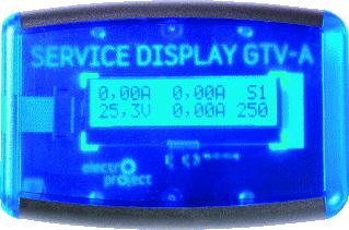 ELECTROPROJECT SERVICE DISPLAY TBV GTV-A