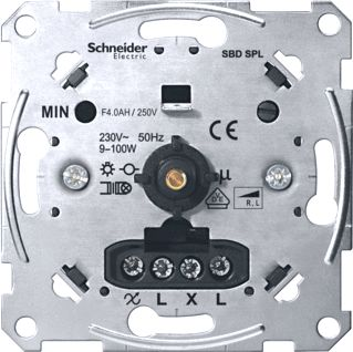 SCHNEIDER ELECTRIC DIMMER CFL DRUK-WIS 9-100W