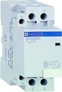 SCHNEIDER ELECTRIC CONTACT 40A 2M 230 VOLT AC 60HZ