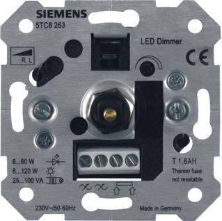 SIEMENS LS-DIMMER VOOR R,L OF LED 230V 50-60HZ