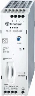 FINDER VOEDING 12VDC 2,1A 25W